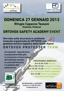 Ortovox Safety Academy Event